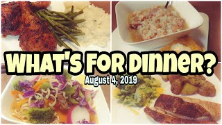 WHAT'S FOR DINNER? | Easy & Budget Friendly Family Meal Ideas