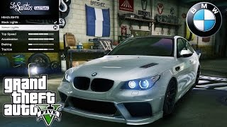 BMW M5 E60 GTA V car mod tuning !!