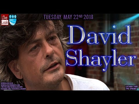 David Shayler On Manchester Bomb Remembrance & Why He Believes Flat Earth Theory!