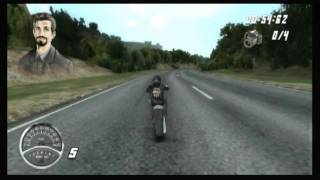 CGR Undertow - HARLEY DAVIDSON ROAD TRIP for Nintendo Wii Video Game Review