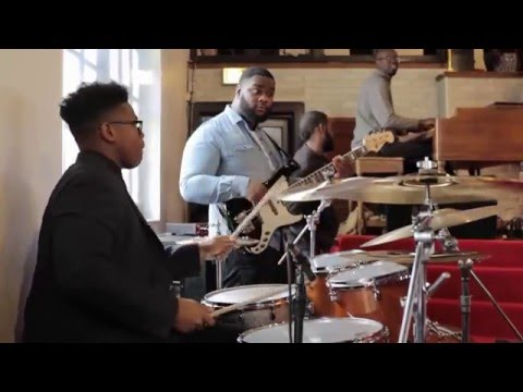 "15-year-old Jaylan Crout Playing Drums in Church (Part 1) ""How Great Is Our God"""