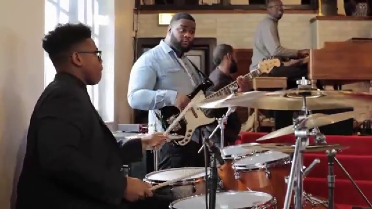 15 year old jaylan crout playing drums in church part 1 how great is our god youtube. Black Bedroom Furniture Sets. Home Design Ideas