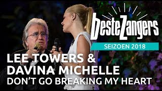 Lee Towers & Davina Michelle - Don't go breaking my heart | Beste Zangers 2018