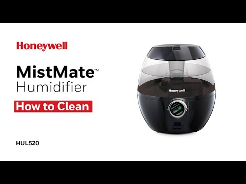 Honeywell MistMate™ Ultrasonic Cool Mist Humidifier HUL520 - How to Clean