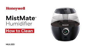 Honeywell Ultrasonic Cool Mist Humidifier HUL520 - Cleaning