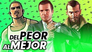 Del Peor al Mejor... Grand Theft Auto