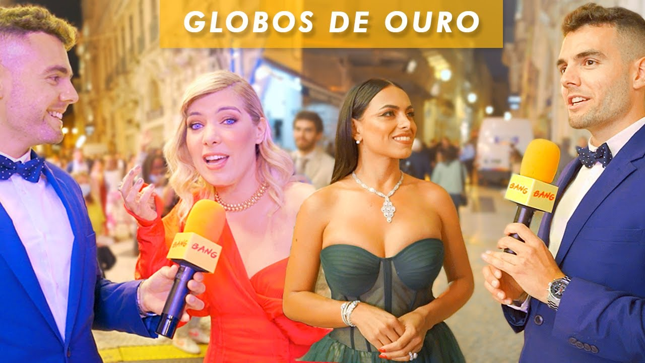 GLOBOS DE OURO 2021 - Entrevistas na XXV Gala dos Famosos da Televisão. VOLTÁMOS BANG BANG!