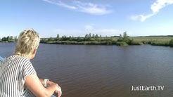 Russland Fluss Onega Weißes Meer