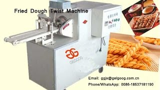 Fried Dough Twist Machine|Chinese Doughnut Machine(Mahua)