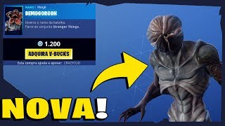 Shop of items Fortnite-today's shop 04/07/2019 new skins * STRANGER THINGS *