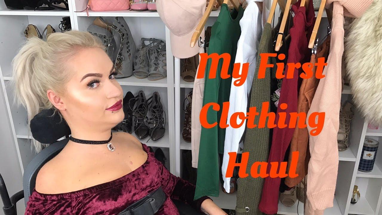Clothing Haul | @tess.daly - YouTube