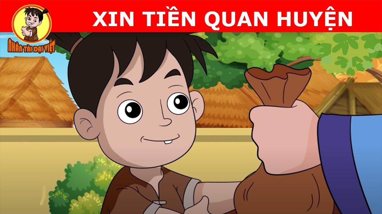 Thần Đồng Đất Việt | Xin Tiền Quan Huyện | Phim Hoạt Hình Chanel
