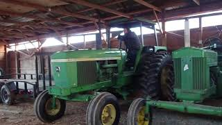 Moving Old Tractors