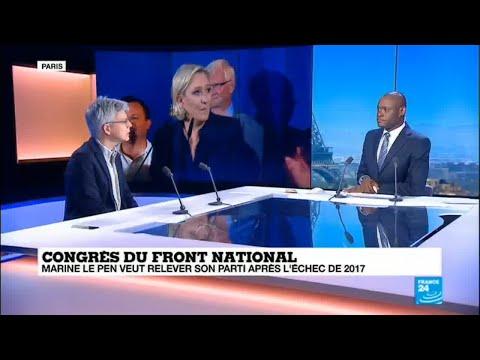 Congres FN: Marine Le Pen peut-elle relever son parti après l'échec de 2017 ?
