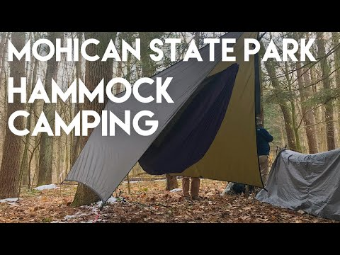 Hammock Camping at Mohican State Park- YouTube Hiker Meet Up