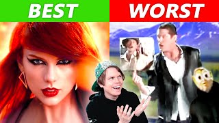 Pro Singer Reacts to Worst & Best Music Videos