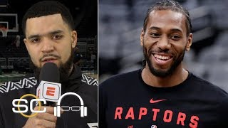 Fred VanVleet on Kawhi: We lean on him a lot | SC with SVP | 2019 NBA Playoffs