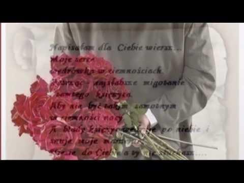 O Tobie Tysiąc Róż I Wiersz Kochanie