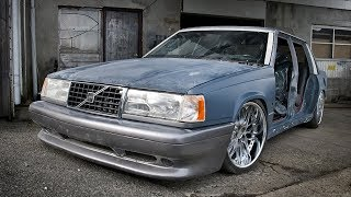Volvo 740 Wide Body Air Ride Build Project