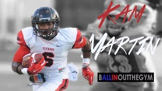 kameron martin is the 1 runningback in texas 2014 junior year football highlights