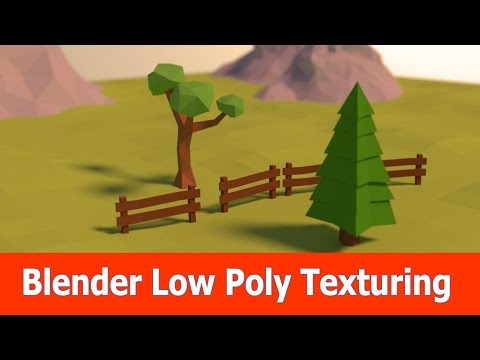Blender Lowpoly Modeling & Texturing