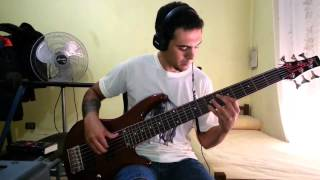IRON MAIDEN - The Unbeliever. Bass Cover by Samael.