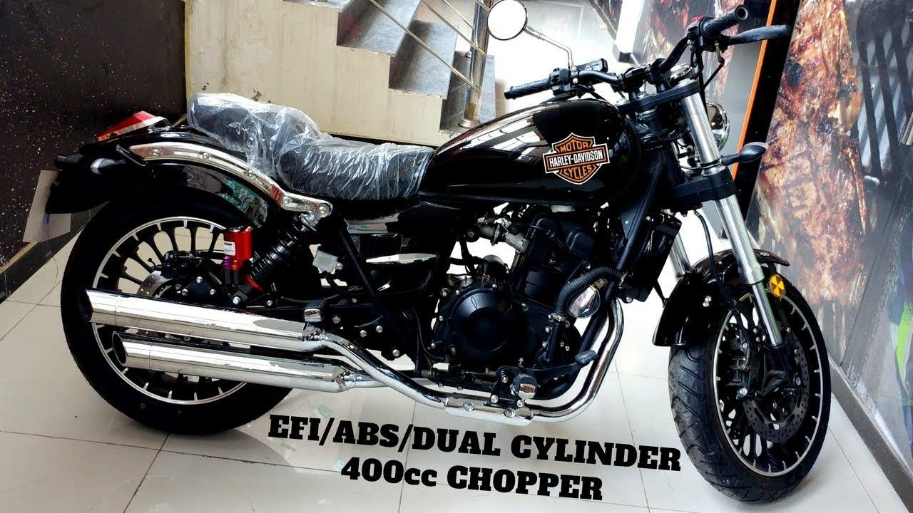 Lifan Chopper 400cc Dual Cylinder Efi
