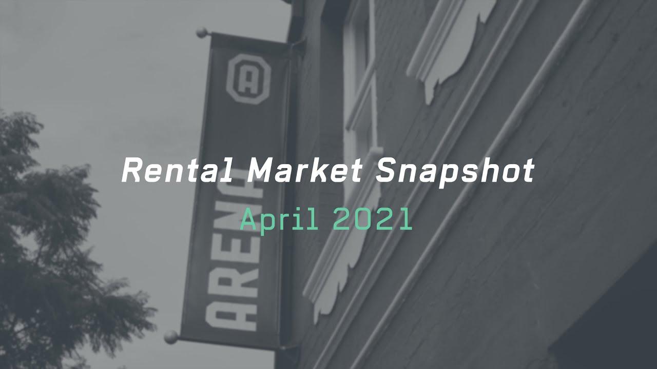 Arena Rental Market Snapshot - April 2021