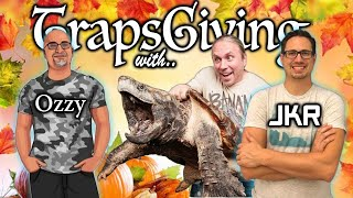 #41 TRAPSGIVING WITH OZZY BOIDS JUSTIN KOBYLKA & SPECIAL GUEST | BALL PYTHON GIVEAWAY | TRAP TALK