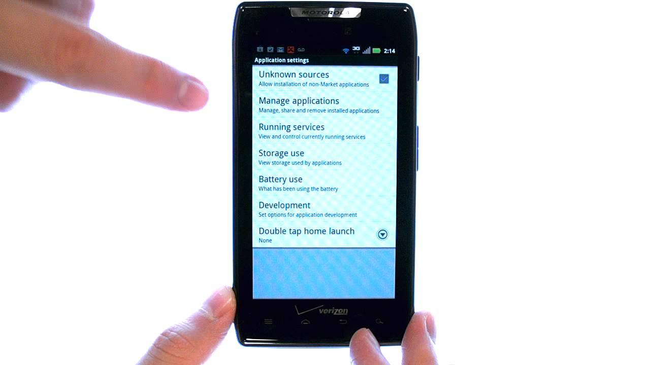 How Do I Uninstall Apps On My Motorola Droid RAZR or RAZR Maxx?