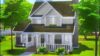 BASE GAME FAMILY HOME + GIVEAWAY 👪 | THE SIMS 4 // SPEED BUILD
