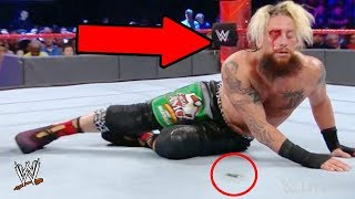 10 Big MISTAKES Wrestlers Made On Live TV (2018)