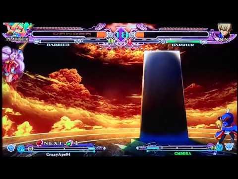 XBL: Blazblue CS Extend Online Matches FT10 2/8/12 - CrazyApe64 (Platinum) vs CMSORA (Jin) part 3/3