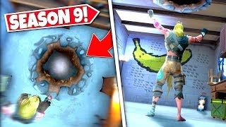 *NEW* SECRET UNDERGROUND ENTRANCE *FOUND* AS PLAYERS DISCOVER ANOTHER NEW SEASON 9 BUNKER!: BR