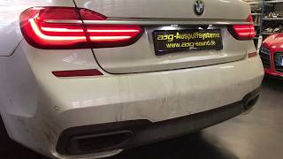 BMW 750i G11 Sportauspuff by asg-sound