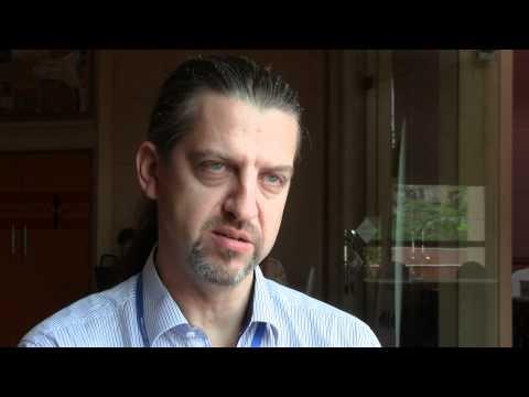 Matt Spannagle Of AusAid Speaking At CBA6 In Hanoi, Vietnam