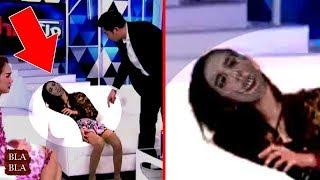 4 مقاطع مرعبة صورتها عدسات الكاميرا على التلفاز مباشرة !!