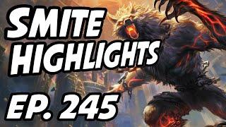 Smite Daily Highlights   Ep. 245   Elphienis, HiRezTV, GrabaGra, Weak3n, FearedSlays, Wolfy2032
