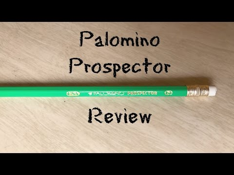 Palomino Prospector Green #2 School Pencil Review
