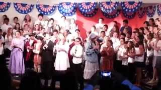 """The Heart of America""  Song at 5th Grade Play"