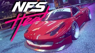 Slammed 458 GT3 Spider! - NEED FOR SPEED HEAT Part 18 | Lets Play NFS Heat