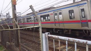 【鉄道動画】堀切橋にて 京成3700形通過シーン