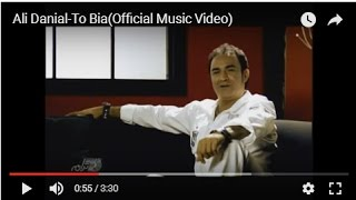 Ali Danial-To Bia(Official Music Video)