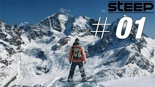 STEEP Möge die Schnee-Action beginnen #01 Let's Play Steep