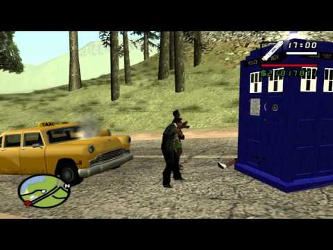 GTA san andreas: Doctor Who mod pack v3.0 (download in description)