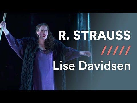 """R. STRAUSS - Ariadne auf Naxos - Part 2 - 12: """"Es gibt ein Reich"""" - Lise Davidsen"""