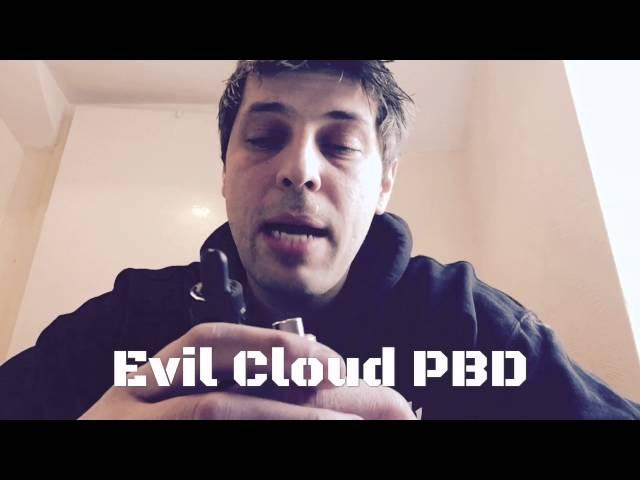 Vape UK review on Evil Cloud e liquid e juice