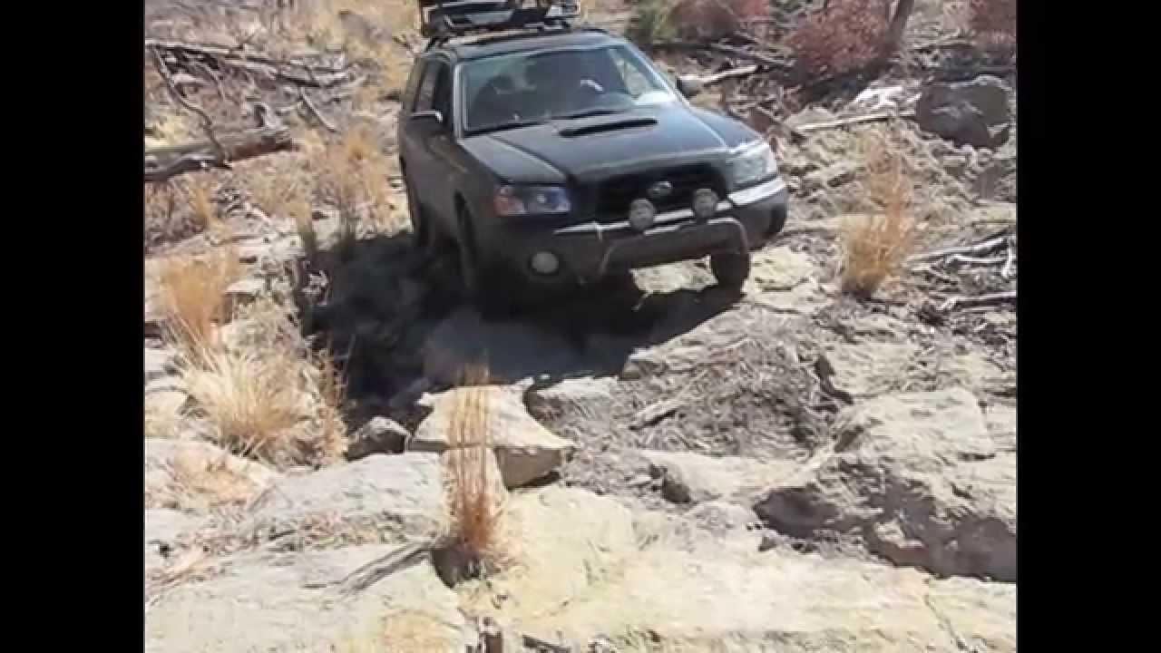Subaru Forester Xt >> Subaru Forester Off Road Rock Crawling (Part 1) - YouTube