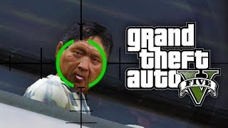 GTA 5: FUNNY MOMENTS #9 (GTA V Epic Crashes, Flying Donuts and more)