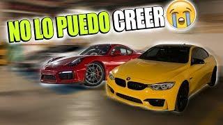 BMW M4 VS PORSCHE CAYMAN GT4 DE NOCHE EN CARRETERA    ALFREDO VALENZUELA